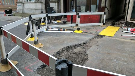 Hall Plain in Great Yarmouth will be closed for five days for gas works. Photo: George Ryan