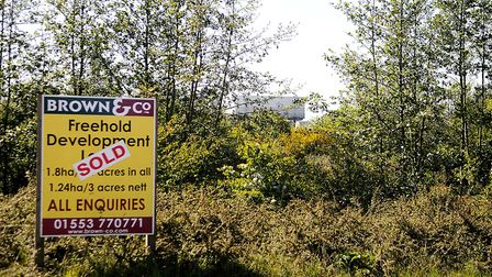 Land next to the proposed incinerator site has been sold. Picture: Chris Bishop
