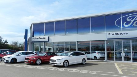 The Ford Store at John Grose in Ipswich. Picture: John Grose