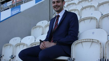Lowestoft's Callum Walchester, who will be running the line at this weekend's National League play-o
