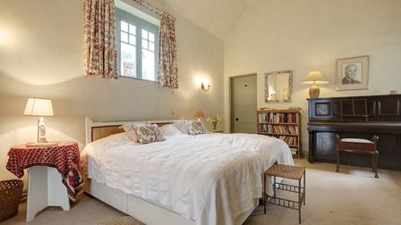 One of the bedrooms in The Clock House, Old Hunstanton. Photo: Photo: Courtesy of Jackson-Stops & St