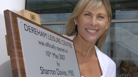 British Olympic swimmer Sharon Davies, MBE, originally opened the centre in 2007. Picture: Dereham L