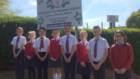 Pupils and staff at Barnham Primary School are pleased with the result of the recent Ofsted inspecti