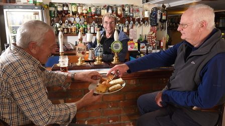 Terry Holt, the owner of the King's Head pub in Lingwood, has opened up his premises to house the vi