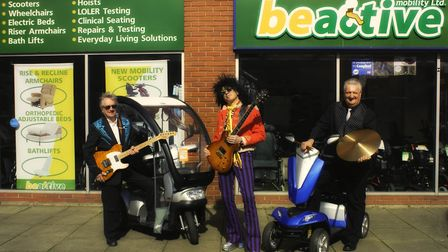 Three charities will be supported at a event designed to raise money where three local bands will pe