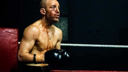 Johnny Harris plays a once promising contender who threw it all away and is now homeless and alcohol
