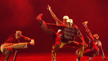 Soweto Skeleton Movers from South Africa will be performing at Norwich Theatre Royal as part of Brea