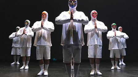 B-Boy Ducky leads this squad of b-boys from Korea�s most infamous crews Just Dance. Picture: Submitt
