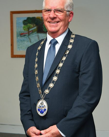Burlingham ward councillor David Ward was appointed chairman following a year as vice chairman. Phot