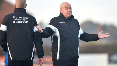 Lowestoft Town boss Ady Gallagher wants to know what the club's long-term ambitions before committin