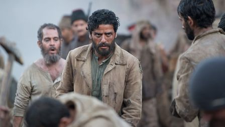 Oscar Isaac as Michael Boghosian in Terry George's period romance The Promise. Picture: Jose Haro/eO