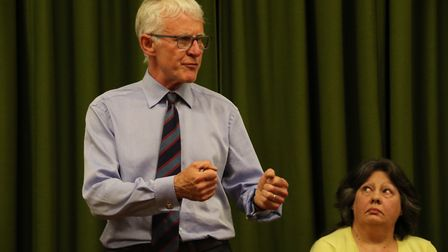 Liberal Democrat candidate Norman Lamb had to defend his position on the legalisation of cannabis. A