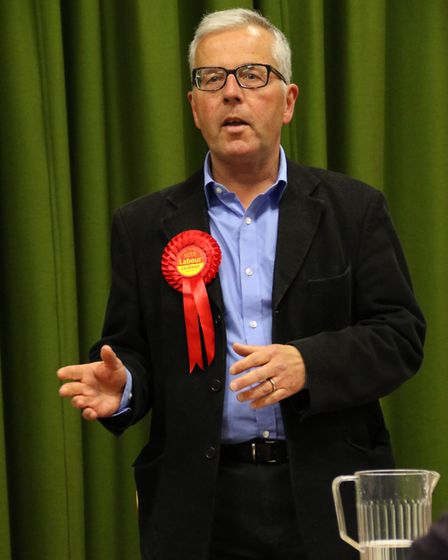 Labour candidate Stephen Burke. Picture: Ally McGilvray