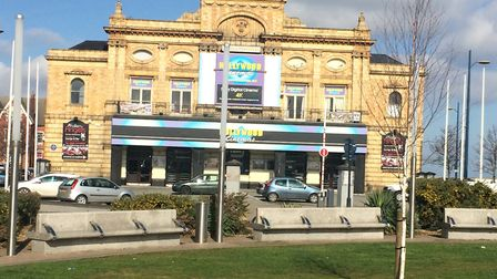 A photo of the Hollywood Cinema now as it currently looks. Photo: Anthony Carroll