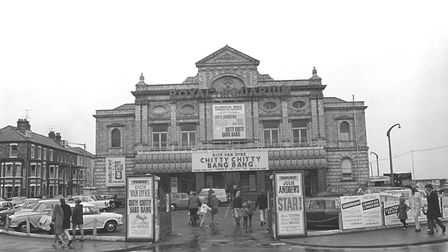 Great Yarmouth - Royal Aquarium - Showing Chitty Chitty Bang Bang - taken over by Forte Group pic
