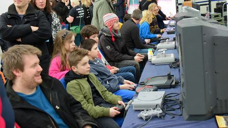 The Norwich Gaming Festival 2016 in The Forum. PHOTO BY SIMON FINLAY