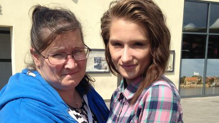 Lisa Ashford and daughter Charlotte Ashford-Oats. Picture: Archant