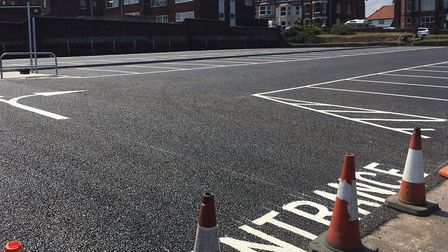 New Runton Road car park is due to open in Cromer: Picture: David Bale