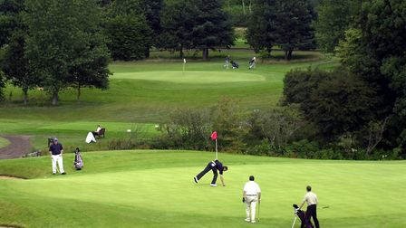 Marriott Sprowston Manor golf club. Picture: Archant