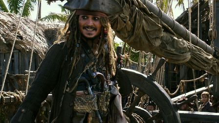 Johnny Depp back as Jack Sparrow in Pirates Of The Caribbean Salazar's Revenge. Picture: Disney