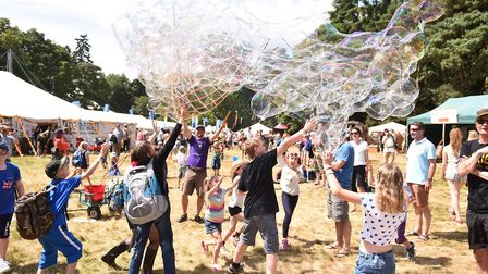 To be in with a chance of winning one of five pairs of weekend camping tickets for Latitude Festival