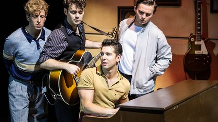 The cast also includes Matt Wycliffe as Carl Perkins, Robbie Durham playing Johnny Cash, Ross Willia