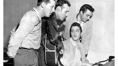 Million Dollar Quartet is based on the famous one and only time that Carl Perkins, Johnny Cash, Elvi