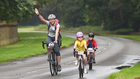Cycle Together on the Sandringham Estate. Picture: Ian Burt