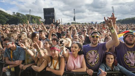 Festival-goers at last year's Leeds Festival at Bramham Park, West Yorkshire. Picture: Danny Lawson/