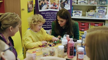 The Duchess of Cambridge, Royal Patron of EACH, has recorded a video message to celebrate and mark t