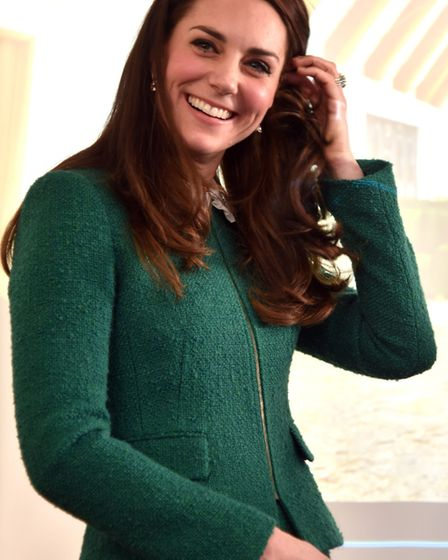 The Duchess of Cambridge visits EACH Hospice at Quidenham back in January. Picture Sonya Duncan.
