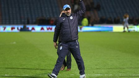 Huddersfield Town chief David Wagner is not on Norwich City's radar. Picture by Paul Chesterton/Foc