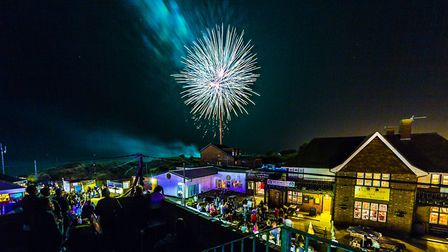 A previous fireworks display in Hemsby Picture: david@streetview-marketing.co.uk