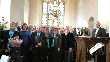 D'Capo choir performed at St Mary's in Carleton Forehoe. Picture: Tara Riddle