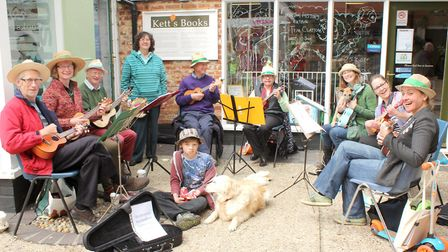 Wymondham Music Festival's annual Town Busking Day returns with musicians performing all over the to