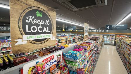 The new East of England Co-op supermarket on Norwich Road, Acle. Inside the new store. Picture: Jame