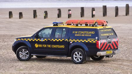 The Lowestoft and Southwold coastguard said the woman had fallen whilst aboard the vessel and was in