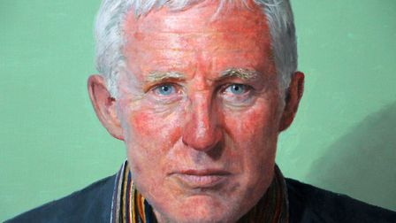 Paul P Smith�s portrait of north Norfolk MP Norman Lamb is among the works that have been chosen for