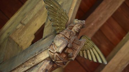 Gissing Church has a rare example of an Angel Roof, the church is dire need of renovations after par