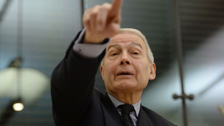 Labour MP Frank Field, chair of the parliamentary work and pensions committee. Photo: Anthony Devlin