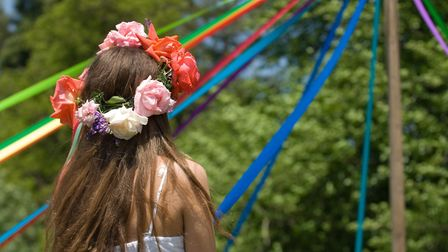 Maypole dancing, a traditional favourite, will feature at many events this May Day holiday weekend.