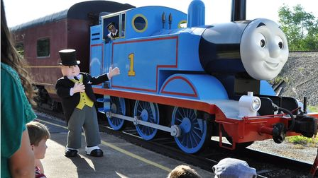 Thomas the Tank Engine and friends come to North Norfolk Railway for a special weekend. Picture: Sup