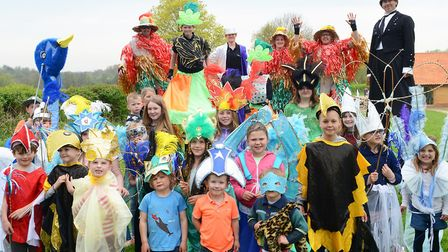 Gressenhall Spring Fair is a celebration of the season taking place on May Day. Picture: Supplied