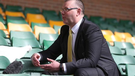 Norwich Managing Director Steve Stone gives Media interviews on the restructuring of Norwich City Fo