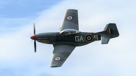 The P-51 Mustang known as The Shark will be heading to the Old Buckenham Airshow in July. Picture: E