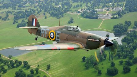The Hurricane will make a flying visit to the Old Buckenham Airshow. Picture: Richard Paver