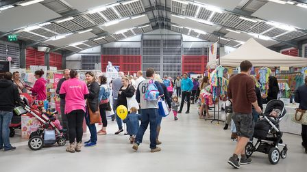 Bump and Beyond Baby and toddler fair. Picture: MARK RAINES
