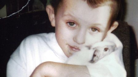 Missing Yarmouth schoolboy Daniel Entwistle pictured just before he disappeared. Picture: Bill Darn