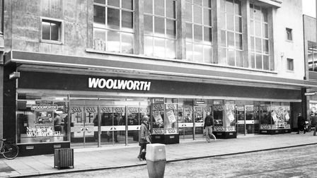 Norwich BuildingsWoolworths in Rampant Horse Street. Woolworths moved out into new premises in St