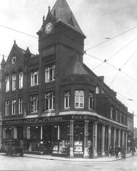 Woolworths storefront. Photo: Archant Library.